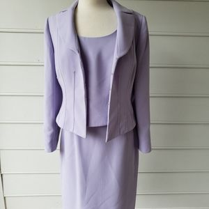Tahari 3 Piece Suit with Blazer Blouse and Skirt